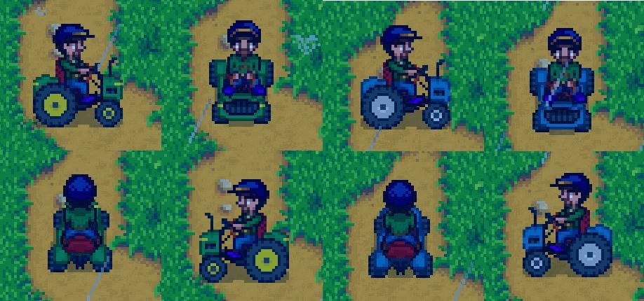 Stardew Valley Mod Tractor