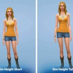 Sims 4 Latest Height Slider Mod Free Download