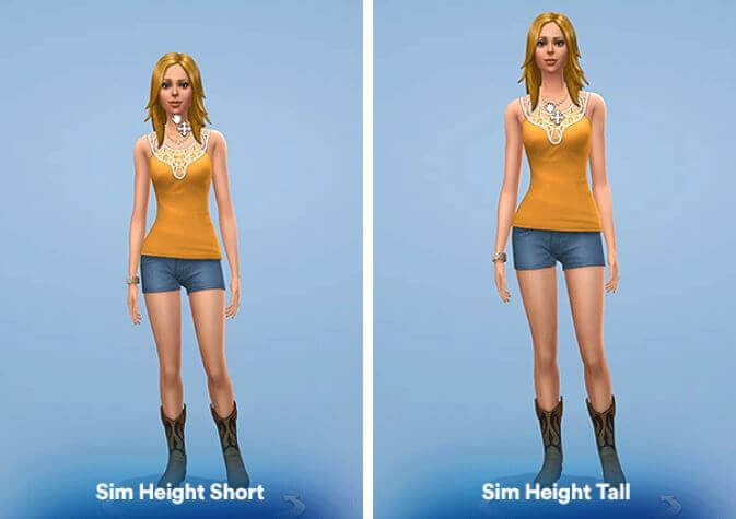 sims 4 height mod