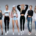 The Sims 4 CC Clothing Mod Set Package Free Download