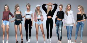 Sims 4 Mod Clothes Female