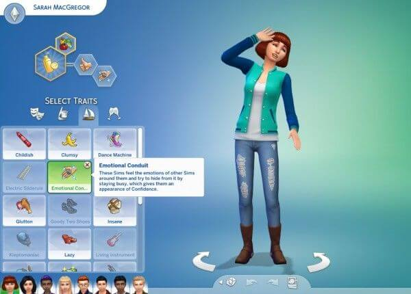 Unlimited Custom Traits In Sims 4 Traits Mod New Update - Game Iterator