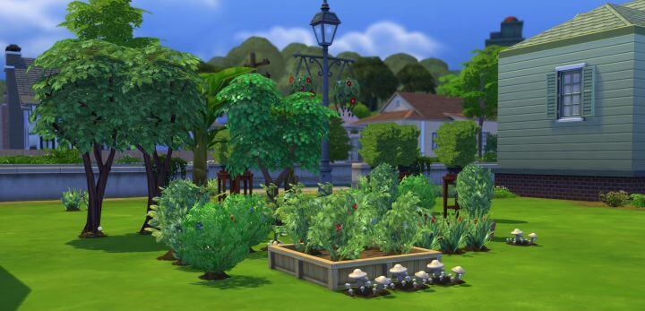 Sims 4 Gardening mod