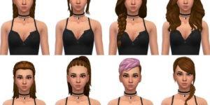 Sims 4 Maxis Match Hair