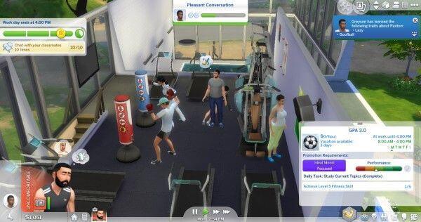 Sims 4 University Mod