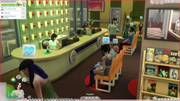 Sims 4 Doctor career Mod