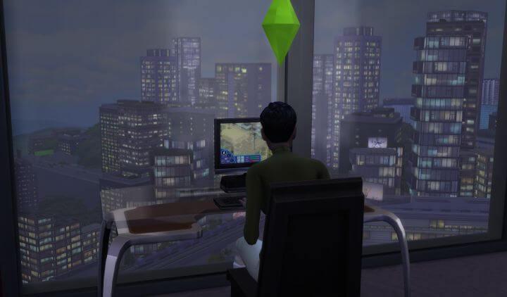 Sims 4 Social Media Career