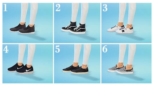 sims 4 cc shoes
