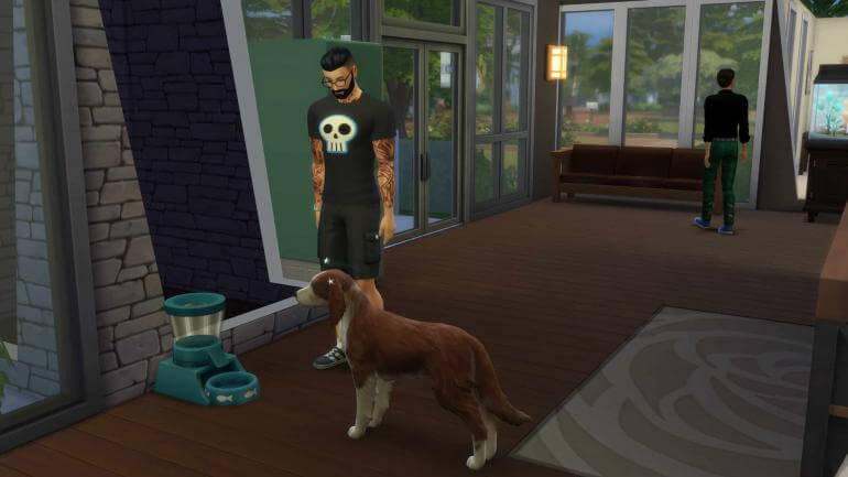Sims 4 Control Pets Mod