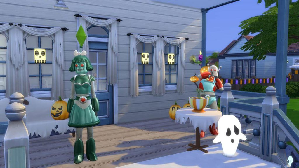Sims 4 Halloween Patch