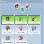 Sims 4 Lot Traits Mod
