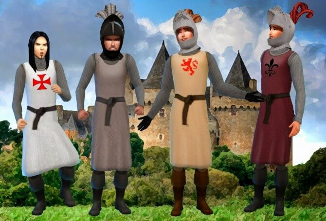 Sims 4 Medieval Mods Pack Download With Custom Content Theme World