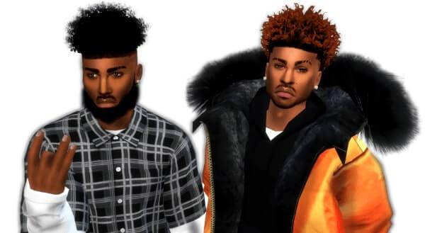 Sims 4 Urban cc hair
