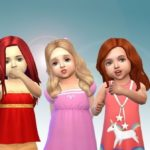Download Sims 4 Child Hair Mod With Male & Female Kids CC Color Pack