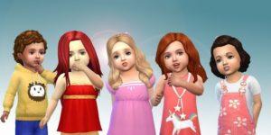 Sims 4 Child Hair Mod