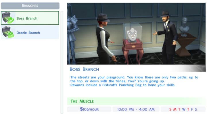 Sims 4 Criminal Career Mod