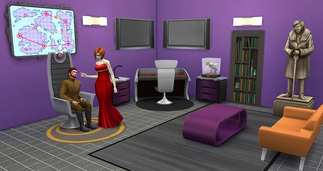 Sims 4 Secret Agent Career