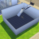 Sims 4 Spiral Staircase mod