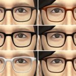 Sims 4 Glasses Mod Download & You Can Get Any Shape Of Glasses