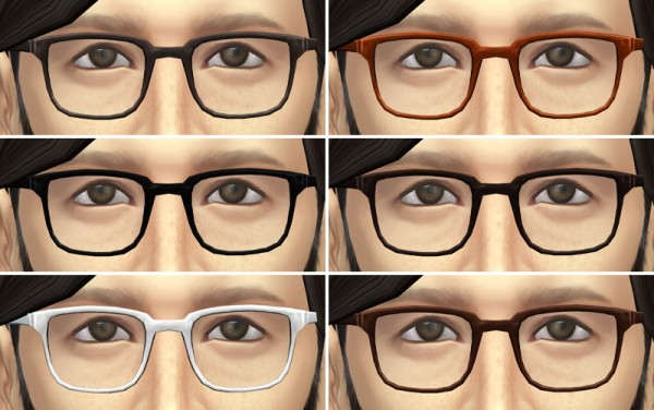Sims 4 glasses mod