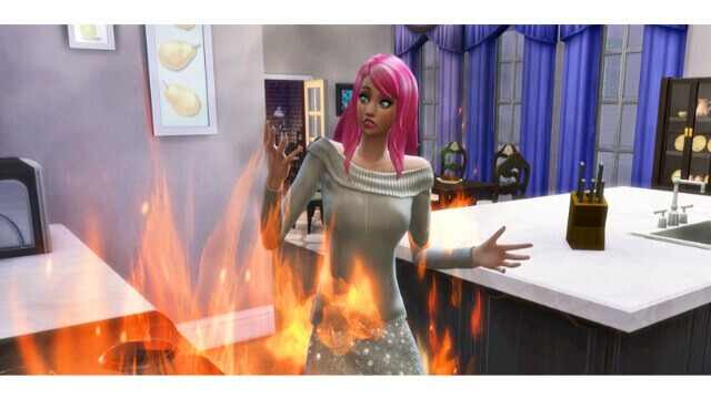 Burn Your Sims Alive