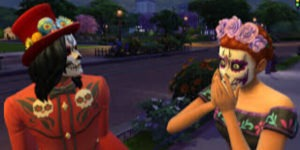 Day of The Dead Sims 4