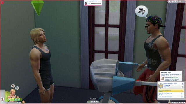 Push Them Over The Edge with Too Much Physical Activity Sims 4