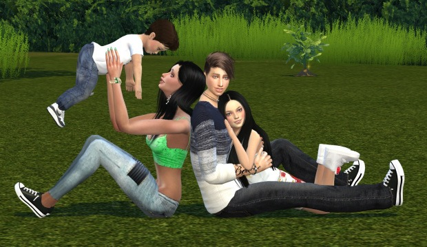Sims 4 Family Poses