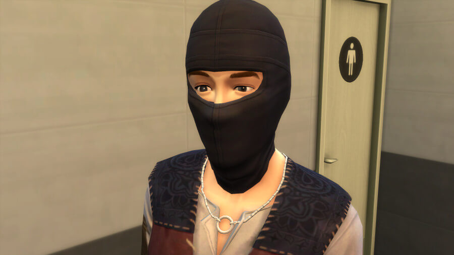 Sims 4 Mask