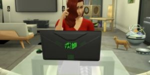 Sims 4 Notebook