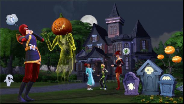 Sims 4 Spooky Stuff