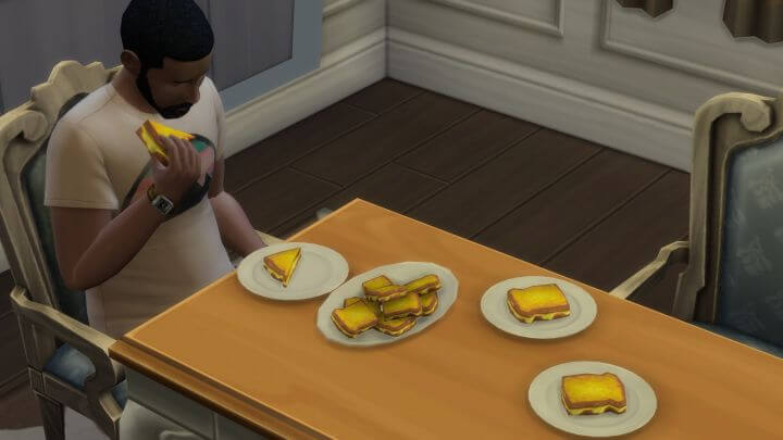 Sims 4 Faster Eating