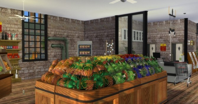 Sims 4 Grocery Store