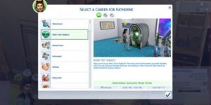 Sims 4 Teen Careers