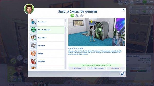 Sims 4 Teen Careers