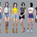 Sims 4 Crop Top mod Download With Best Crop Top Clothes CC Collection