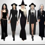 Download Best Sims 4 Gothic CC Clothes & Accessories In Latest Update