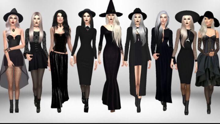 Sims 4 Gothic cc