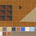 Sims 4 Half Tiles Guide For Diagonal Wall & How to Create Half Tile