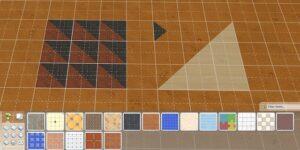 Sims 4 Half Tiles