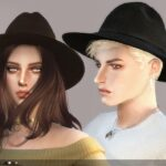 Sims 4 Hats Mod Download With CC Included male, Female & Animal Hats