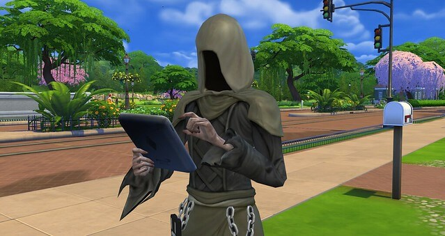 Sims 4 Death Angel Mod