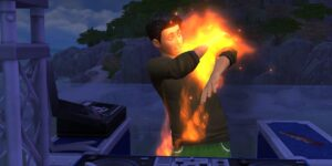 Sims 4 Fire