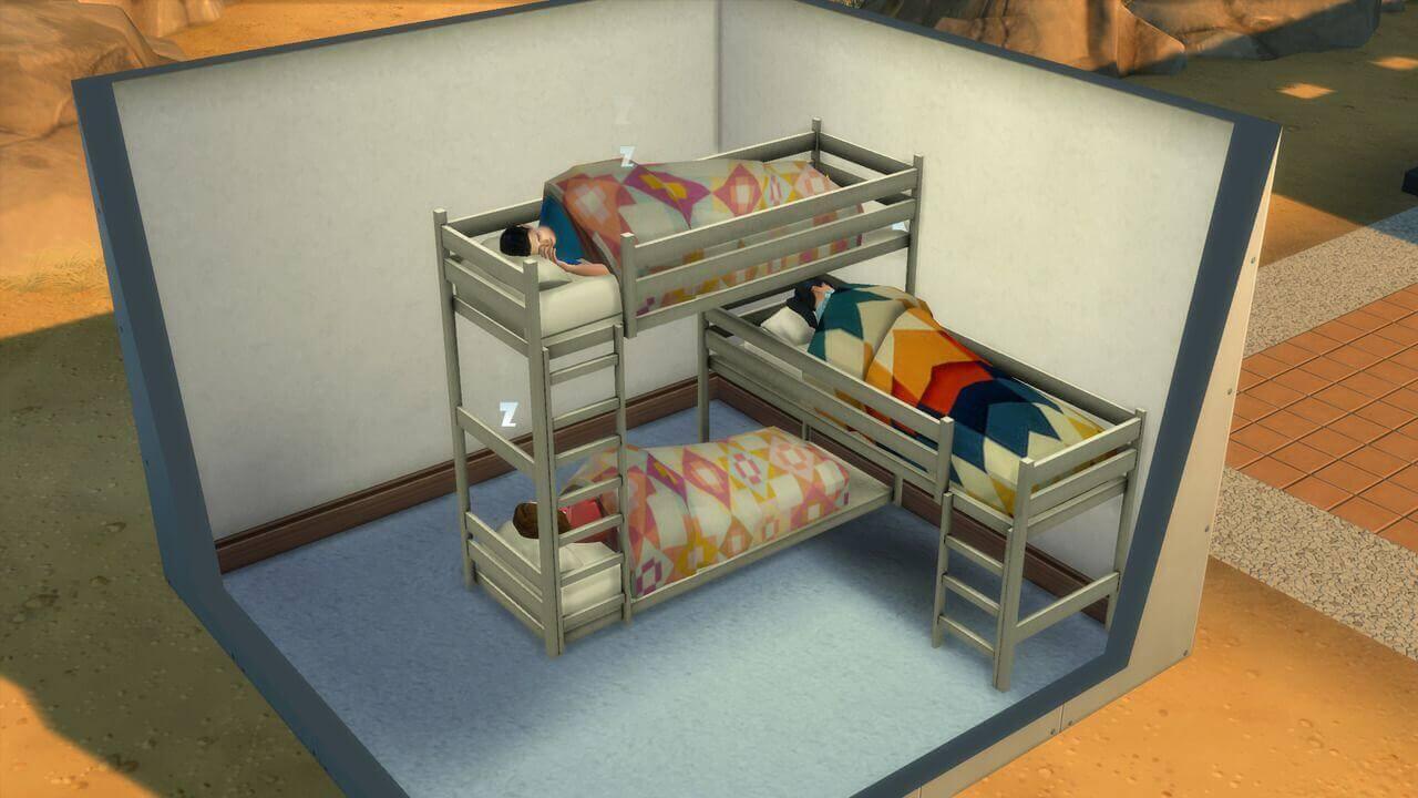 Sims 4 Bunk Beds