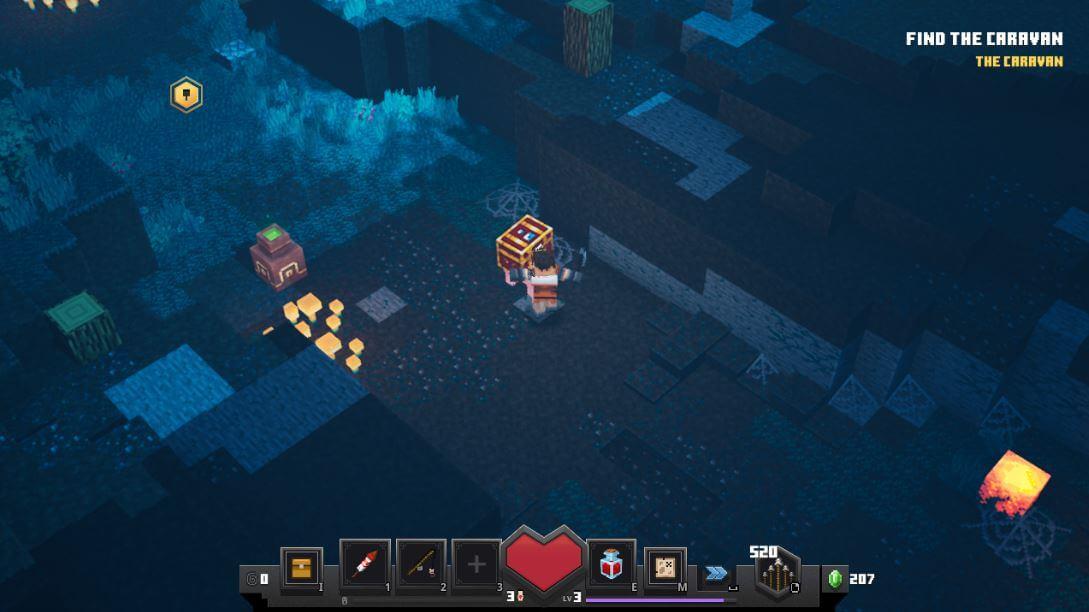 Minecraft Dungeon Secret Levels