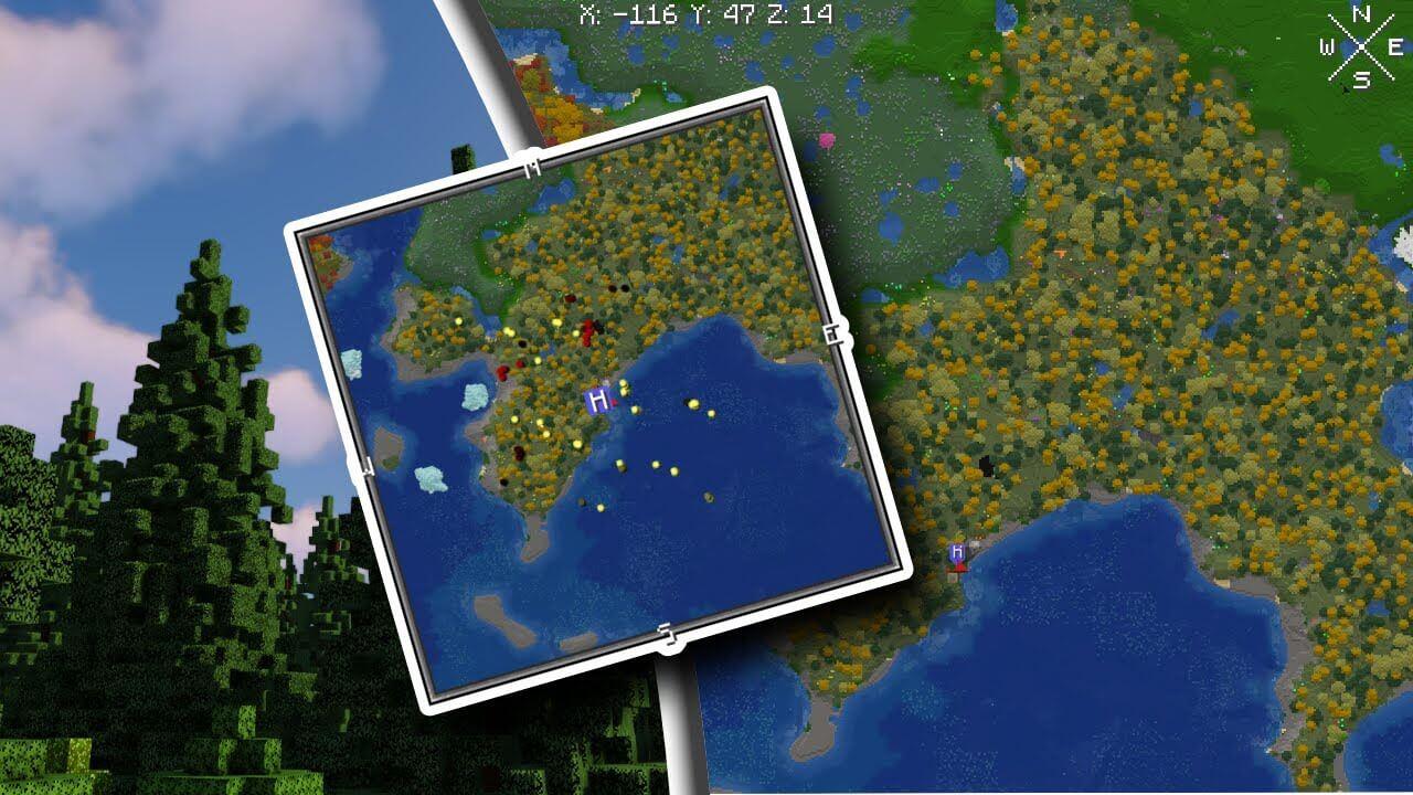 Xaero's Mini Map Minecraft