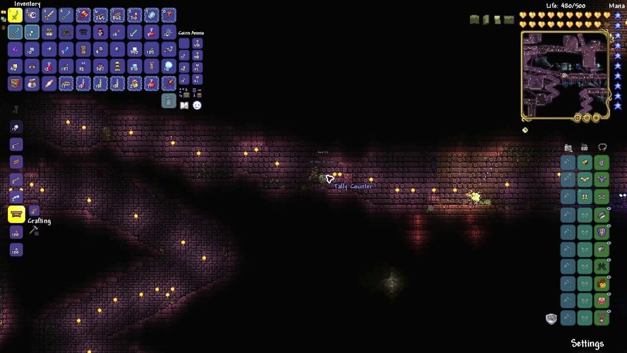 Terraria Tally Counter how to get