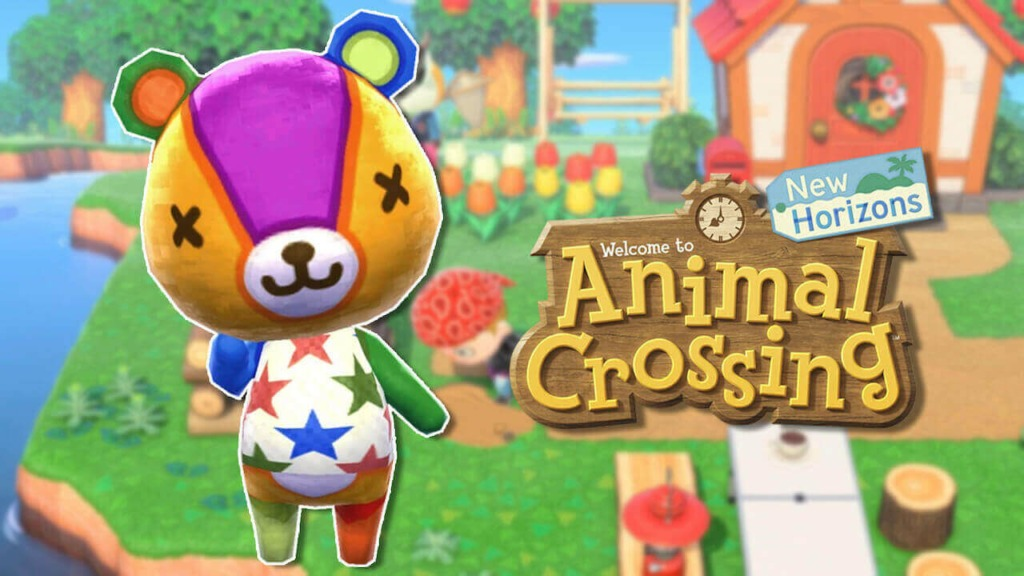 animal crossing villager Stitches